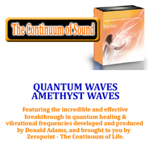 Product picture QUANTUM WAVES AMETHYST WAVES